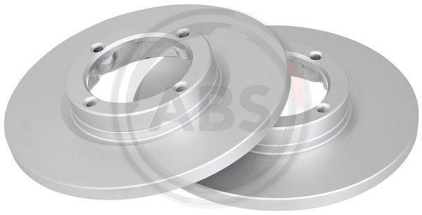 CHEVROLET SPARK 2014 Scheibenbremsen - Original A.B.S. 17067 Ø: 236mm, Felge: 4-loch, Bremsscheibendicke: 12,6mm