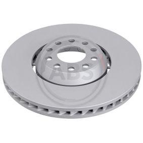 17495 A.B.S. COATED belüftet, Bremsscheibe zweiteilig Ø: 334mm, Felge: 5-loch, Bremsscheibendicke: 32mm Bremsscheibe 17495 günstig kaufen