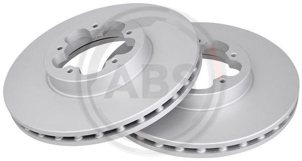 Купете 17745 A.B.S. вентилиран, с покритие Ø: 300мм, джанта: 5-дупки, дебелина на спирачния диск: 28мм Спирачен диск 17745 евтино