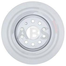 18087 A.B.S. COATED belüftet, beschichtet Ø: 314mm, Felge: 5-loch, Bremsscheibendicke: 30mm Bremsscheibe 18087 günstig kaufen