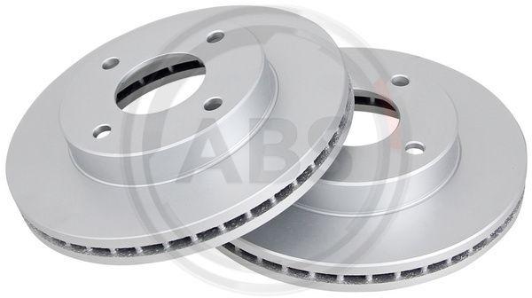 Acheter Disques de frein Ø: 257mm, Jante: 4Trou, Épaisseur du disque de frein: 26mm A.B.S. 18213 à tout moment