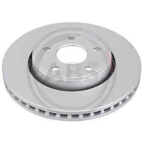 18218 A.B.S. ventilado Ø: 330mm, Llanta: 5Taladro(s), Espesor disco freno: 32mm Disco de freno 18218 a buen precio