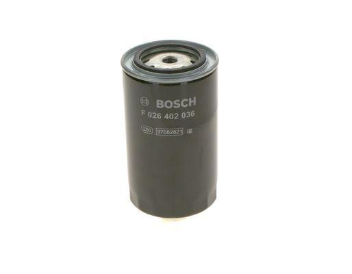 F 026 402 036 BOSCH Fuel filter for IVECO Trakker - buy now