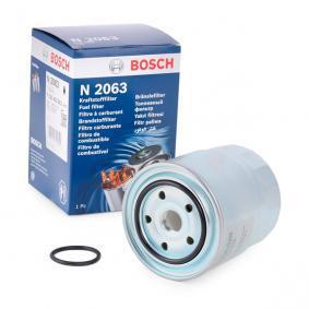 Kraftstofffilter F 026 402 063 HONDA CIVIC VIII Hatchback (FN, FK) — Greifen Sie zu und halten Sie Ihr Auto sicher