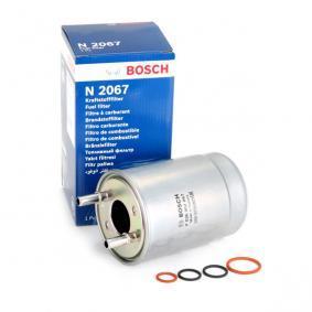 N2067 BOSCH Leitungsfilter Höhe: 177mm Kraftstofffilter F 026 402 067 günstig kaufen