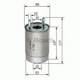 F 026 402 067 Kraftstofffilter BOSCH - Markenprodukte billig