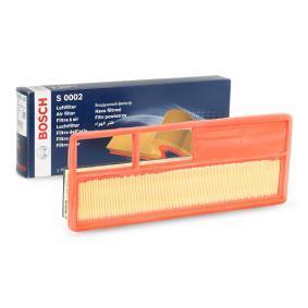 Vzduchový filter F 026 400 002 FIAT GRANDE PUNTO v zľave – kupujte hneď!