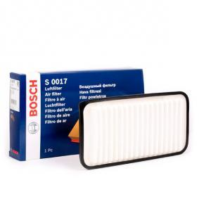 Luftfilter F 026 400 017 til TOYOTA lave priser - Handle nå!