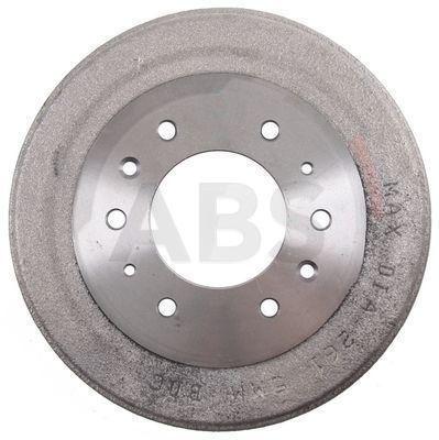 A.B.S.: Original Bremstrommel 2672-S (Felge: 6-loch)