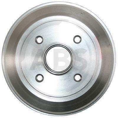A.B.S.: Original Bremstrommel 2770-S (Felge: 4-loch)
