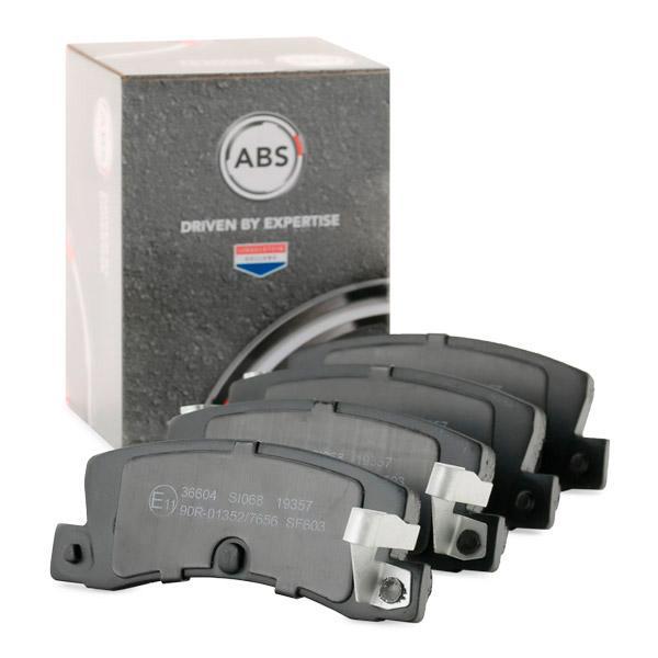 A.B.S. | Bremsbelagsatz, Scheibenbremse 36604
