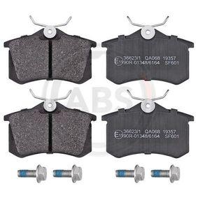 36623/1 Bremsbelagsatz A.B.S. - Markenprodukte billig