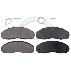 36877 Brake Pad Set, disc brake A.B.S. - Experience and discount prices