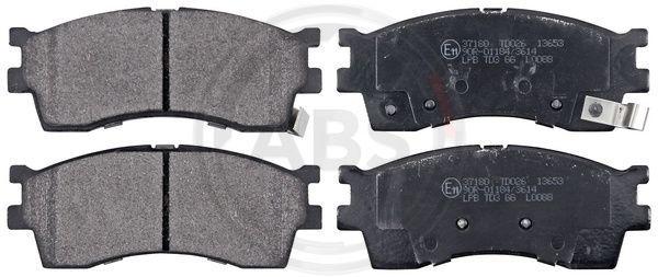 Bremsbelagsatz A.B.S. 37180