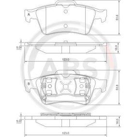 Scheibenbremse für Bremsanlage Hinterachse MEYLE 025 234 8216 Bremsbelagsatz