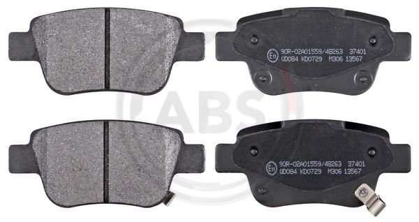 37401 Bremsbelagsatz A.B.S. - Markenprodukte billig