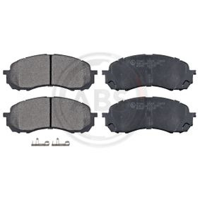 Bremsbelagsatz Scheibenbremse ABE C17015ABE