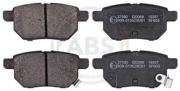 Buy original Brake pad set disc brake A.B.S. 37580