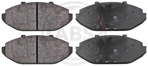 FORD USA CROWN VICTORIA 2005 Bremsbelagsatz - Original A.B.S. 38748 Höhe 1: 68,8mm, Breite 1: 165,1mm, Dicke/Stärke 1: 17,2mm