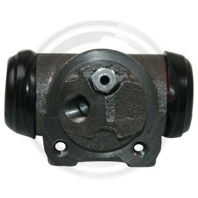 A.B.S.: Original Bremsbelagsatz Trommelbremse 62892 (Ø: 22,2mm)