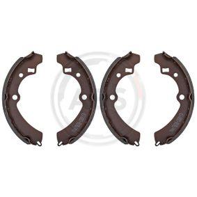 Bremsbackensatz für Bremsanlage Hinterachse TRISCAN 8100 69521