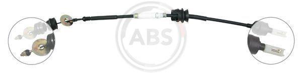K25960 A.B.S. vorne, Nachstellung: mit manueller Nachstellung Seilzug, Kupplungsbetätigung K25960 günstig kaufen