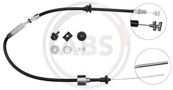K26510 A.B.S. vorne, Nachstellung: mit manueller Nachstellung Seilzug, Kupplungsbetätigung K26510 günstig kaufen