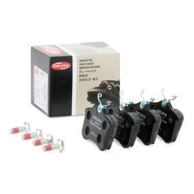 D8947773 DELPHI Height: 53mm, Thickness 1: 17mm Brake Pad Set, disc brake LP565 cheap
