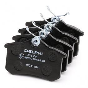 LP571 Bremsbeläge DELPHI 20960 - Große Auswahl - stark reduziert