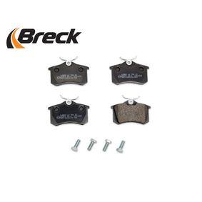 20961 00 704 00 Bremsbelagsatz, Scheibenbremse BRECK - Markenprodukte billig