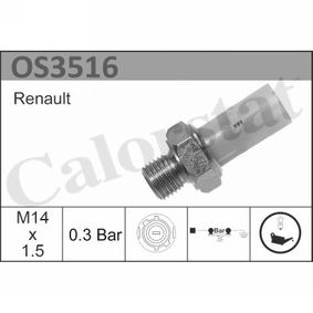 Achetez et remplacez Indicateur de pression d'huile OS3516