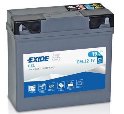Motorrad Starterbatterie GEL12-19 Niedrige Preise - Jetzt kaufen!