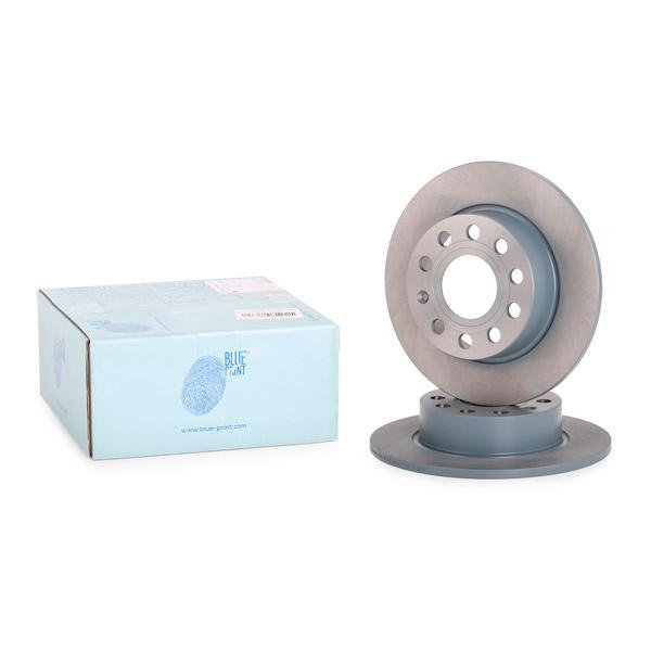 ADV184306 BLUE PRINT Hinterachse, Voll, beschichtet Ø: 255,0mm, Bremsscheibendicke: 10mm Bremsscheibe ADV184306 günstig kaufen