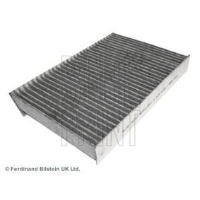 ADR162501 BLUE PRINT Aktivkohlefilter Breite: 191,0mm, Höhe: 35,5mm, Länge: 259,5mm Filter, Innenraumluft ADR162501 günstig kaufen