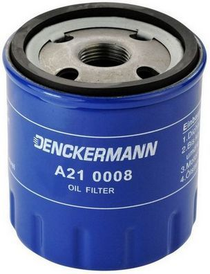 A210008 Filtre d'huile DENCKERMANN - L'expérience aux meilleurs prix