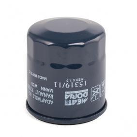 1531911 Motorölfilter MEAT & DORIA 15319/11 - Große Auswahl - stark reduziert