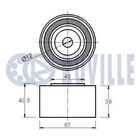 Comprar y reemplazar Almohadilla de tope, suspensión RUVILLE 835403