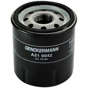 A210042 DENCKERMANN Diâmetro interior 2: 63mm, Diâmetro interior 2: 55mm, Altura: 76mm Filtro de óleo A210042 comprar económica