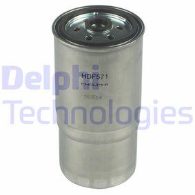 HDF571 DELPHI Kraftstofffilter HDF571 günstig kaufen