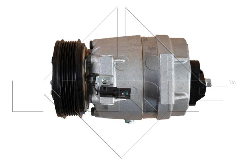 NRF: Original Kompressor 32483G (Riemenscheiben-Ø: 119mm, Anzahl der Rillen: 6)