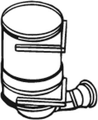 BOSAL: Original Dieselpartikelfilter 097-120 ()
