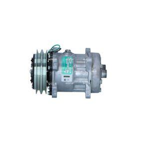 32543G NRF PAG 46, Kältemittel: R 134a, mit PAG-Kompressoröl Riemenscheiben-Ø: 110mm, Anzahl der Rillen: 5 Kompressor, Klimaanlage 32543G günstig kaufen