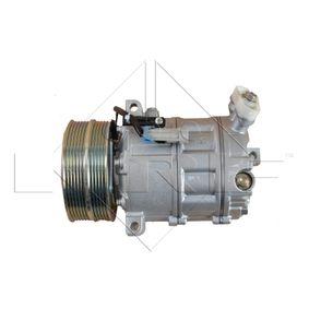 32668G NRF PAG 46, Kältemittel: R 134a, mit PAG-Kompressoröl Riemenscheiben-Ø: 119mm Kompressor, Klimaanlage 32668G günstig kaufen