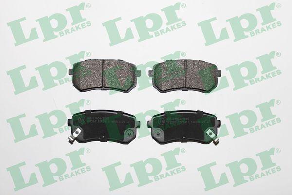 Bremsbelagsatz Scheibenbremse LPR 05P1411