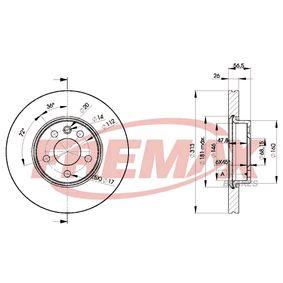 TRW DF4310S Rotores de Discos de Frenos