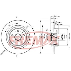 BD4108 Bremsscheiben FREMAX BD-4108 - Große Auswahl - stark reduziert