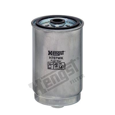 Palivový filtr H707WK s vynikajícím poměrem mezi cenou a HENGST FILTER kvalitou