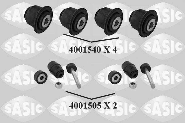 7964003S SASIC Vorderachse beidseitig, ohne Schraubensatz Reparatursatz, Radaufhängung 7964003S günstig kaufen