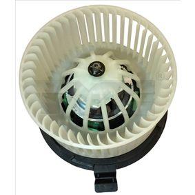 528-0001 TYC Spannung: 13,5V Innenraumgebläse 528-0001 günstig kaufen