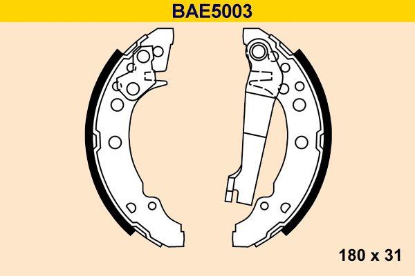 Barum Bremsbackensatz BAE5003